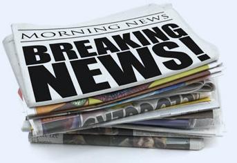newspapers - breaking news headline