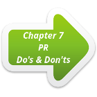 Link to Chapter 7 - PR Do's & Dont's