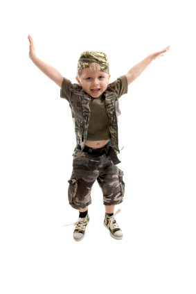 child-army-uniform