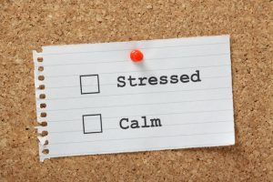 Stressed or Calm Tick Boxes